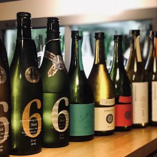 全国の今!を席巻する日本酒をラインナップ