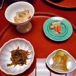 ホテル小柳 - 前菜4点盛り