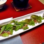 ホテル小柳 - かつおハーブサラダ