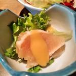 海鮮厨房 - ビンチョウマグロのタタキ