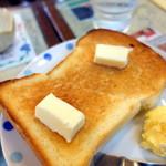 東亜コーヒーショップ - モーニングBセット、+カルピスバター