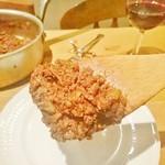 ジビエ&ワイン ブラッスリー山梨 - 鹿肉のミートソース