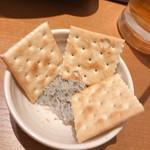 個室×創作和食 北彩亭 - おつまみのしらすクラッカー