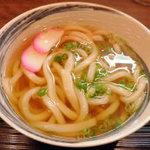 八栗製麺所   - 《かけうどん・\280》