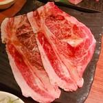 肉匠 くら乃 - 焼きしゃぶ( ^)o(^ )