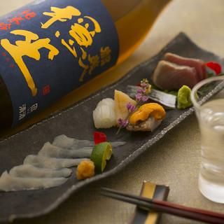 流通のスピードが自慢!新鮮な旬魚をお楽しみいただけます。