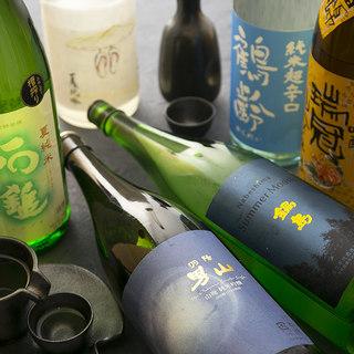 【常時約20種】他ではお目にかかれない旨酒がここに。