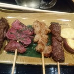 京の焼肉処 弘  - おまかせ5種もり