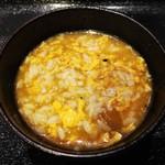 極楽うどん TKU - 即席 鶏卵カレー雑炊