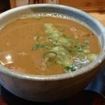 103499852 - 「つけ麺(鶏魚介)麺増量630g」のつけ汁