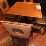 ノーザンテラスダイナー - 椅子とテーブル 【 2011年11月 】