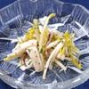 ビストロ gauche - 料理写真:仏産ピサンリ(白たんぽぽ)×烏賊 塩辛プロヴァンサルソース
