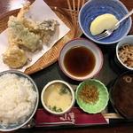 山喜 - 料理写真:日替り(天ぷら定食)