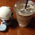 伊東屋珈琲 - コーヒーゼリー・アイスカフェラテ