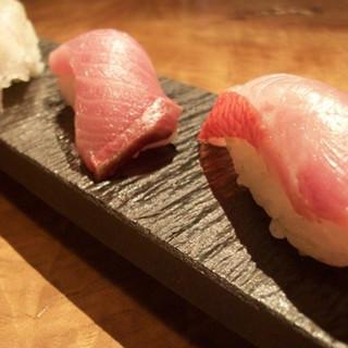 日本前寿し★天然地魚と赤酢のシャリ