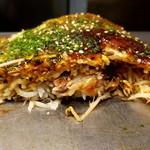 広島風お好み焼き ひなちゃん - スペシャル肉玉そば