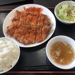 中華料理 麒麟 - 炸鶏排 定食