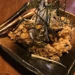 雫流 - 牡蠣ご飯