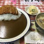 カレーハウス LAHAINA - とん汁セット ¥900-