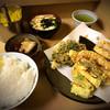 いもや - 料理写真:天ぷら定食+蓮根・アスパラ 850円
