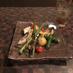 103513006 - 野菜八寸。                       美味し。