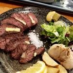 ろばた焼 磯貝 - 牛サガリ炭火焼き