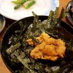ろばた焼 磯貝 - ウニ丼