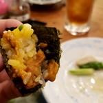 ろばた焼 磯貝 - 単品のウニも追加して、贅沢三昧