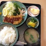 味松 - ランチとんかつ定食  税込650円