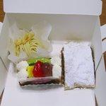 マイヤーリング - 今回は3種のケーキをテイクアウト