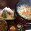 麦の香り - 料理写真:肉汁釜揚げうどん