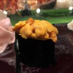 大和寿司 - 「ばふんうに」(「おまかせ」4000円<税抜き価格>)