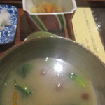 花百咲 - お味噌汁×小鉢