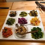 103529054 - 野菜の前菜盛合せ