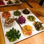 103529055 - 野菜の前菜盛合せ