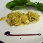 欧味食卓サラマンジェ・ガラ - オードブル:鶏ササミ肉ラビゴートソース