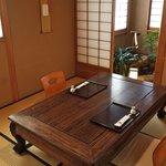 魚勝 - 座椅子の和室2~4名様坪庭付き