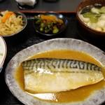 103530056 - (2019/1月)鯖味噌煮定食