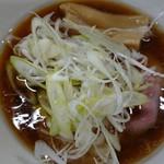 中華そば 壇 - 料理写真:煮干しあっさり