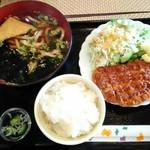 カフェ トーク - 料理写真:「満腹セットA」690円