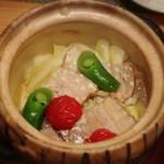 酒と蕎麦 こなから - 春キャベツと豚の蒸し煮(*´艸`*)