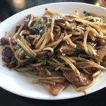 三珍 富士力食堂 - 料理写真:レバニラ定食セット