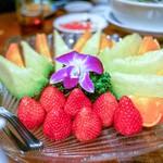 神仙閣 - ☆フルーツ盛合せ