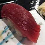 第三春美鮨 - シビマグロ 116kg 腹上二番 赤身 定置網漁 長崎県壱岐 熟成8日目
