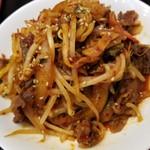 韓国料理 扶餘 - プヨ定食(プルコギ)