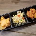 韓国料理 扶餘 - プヨ定食(ナムル)