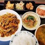 韓国料理 扶餘 - プヨ定食