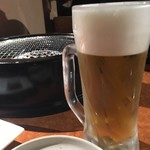 牛の達人 - 生ビール