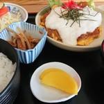 多加箸 - 料理写真:かつあたまとろろ