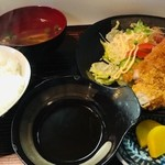 尾張屋 - 味噌カツ定食(800円)